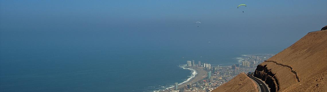 Chile - Streckenflug