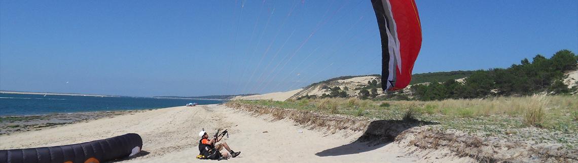 Dune du Pylar - Groundhandling