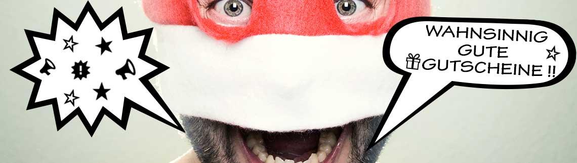 Werbung Startseite - Gutscheine Weihnachten