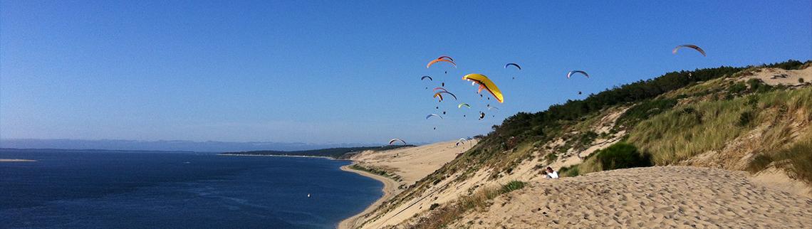 Dune du Pylar - Soaring