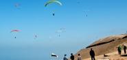 Kolumbien Paragliding Startplatz