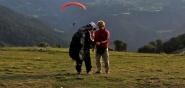 Paragliding Höhenflugkurs Startplatz Flugvorbereitung